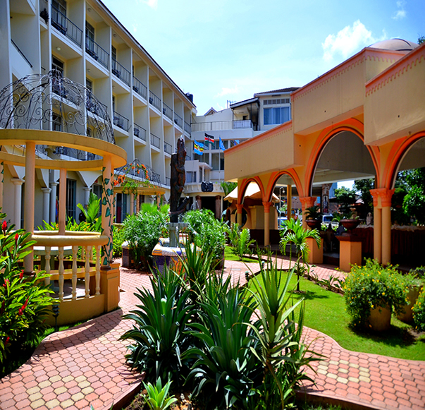 Fairway Hotel Has 100 Rooms Spread Across 4 Blocks Within The S Gardens Include 8 Standard Single 55 Double